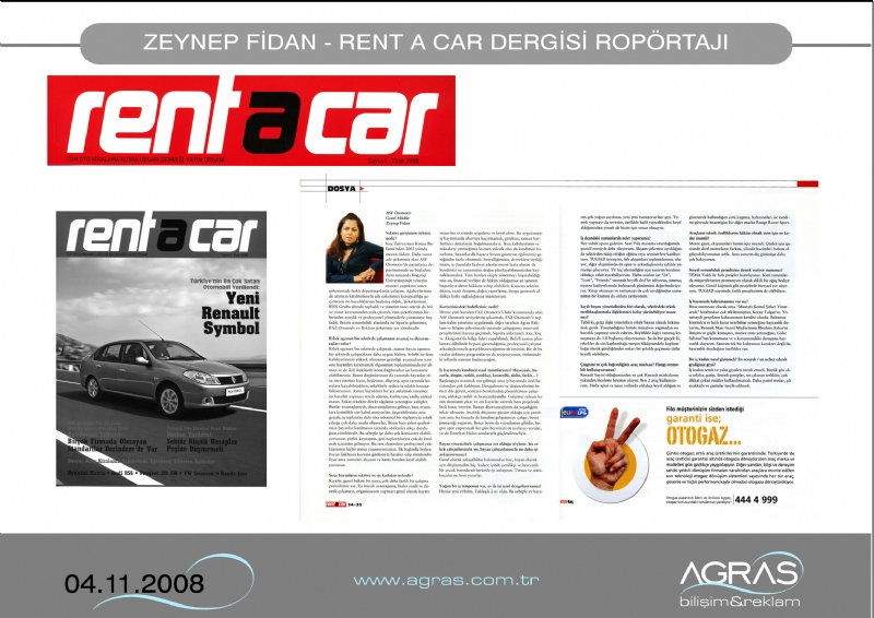 Rent A Car Dergisi